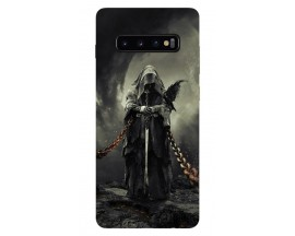 Husa Silicon Soft Upzz Print Samsung Galaxy S10 Plus Model Chains
