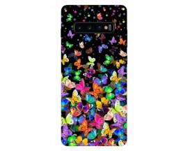 Husa Silicon Soft Upzz Print Samsung Galaxy S10 Plus Model Colorature