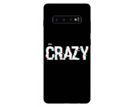 Husa Silicon Soft Upzz Print Samsung Galaxy S10 Plus Model Crazy