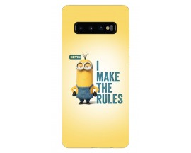 Husa Silicon Soft Upzz Print Samsung Galaxy S10 Plus Model Kevin