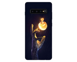 Husa Silicon Soft Upzz Print Samsung Galaxy S10 Plus Model Reach