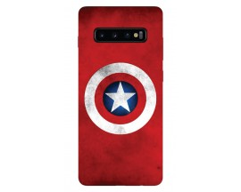 Husa Silicon Soft Upzz Print Samsung Galaxy S10 Plus Model Shield