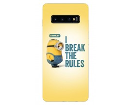 Husa Silicon Soft Upzz Print Samsung Galaxy S10 Plus Model Stuard