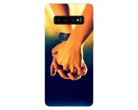 Husa Silicon Soft Upzz Print Samsung Galaxy S10 Plus Model Together