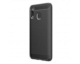 Husa Carbon Upzz Case Anti-shock Samsung Galaxy M20 Negru