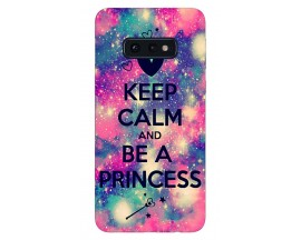 Husa Silicon Soft Upzz Print Samsung Galaxy S10e Model Be Princess