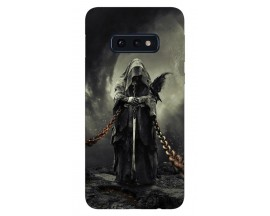 Husa Silicon Soft Upzz Print Samsung Galaxy S10e Model Chains