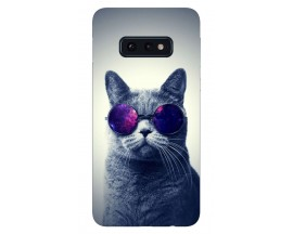 Husa Silicon Soft Upzz Print Samsung Galaxy S10e Model Cool Cat