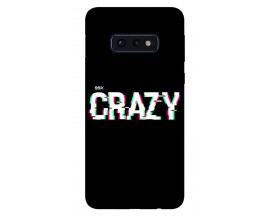 Husa Silicon Soft Upzz Print Samsung Galaxy S10e Model Crazy