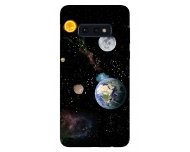 Husa Silicon Soft Upzz Print Samsung Galaxy S10e Model Earth
