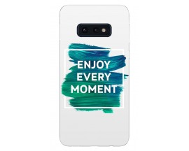 Husa Silicon Soft Upzz Print Samsung Galaxy S10e Model Enjoy
