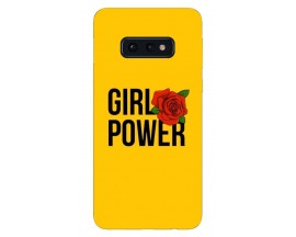 Husa Silicon Soft Upzz Print Samsung Galaxy S10E Model Girl Power