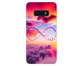 Husa Silicon Soft Upzz Print Samsung Galaxy S10e Model Infinity