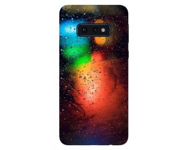 Husa Silicon Soft Upzz Print Samsung Galaxy S10E Model Multicolor