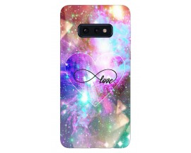 Husa Silicon Soft Upzz Print Samsung Galaxy S10E Model Neon Love