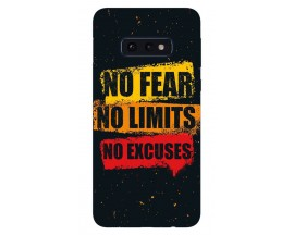 Husa Silicon Soft Upzz Print Samsung Galaxy S10E Model No Fear