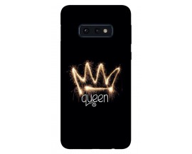 Husa Silicon Soft Upzz Print Samsung Galaxy S10E Model Queen