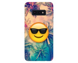 Husa Silicon Soft Upzz Print Samsung Galaxy S10E Model Smille