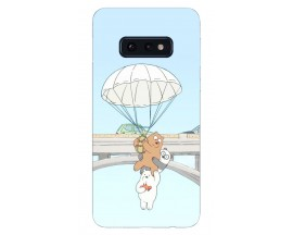 Husa Silicon Soft Upzz Print Samsung Galaxy S10E Model Three Bears