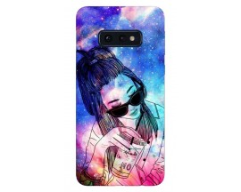 Husa Silicon Soft Upzz Print Samsung Galaxy S10E Model Univers Girl