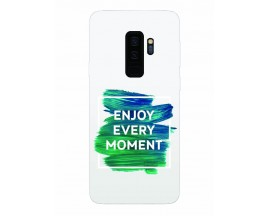Husa Silicon Soft Upzz Print Samsung Galaxy S9+ Plus Model Enjoy
