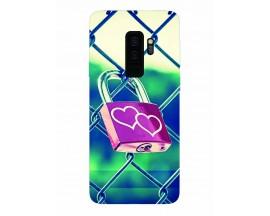 Husa Silicon Soft Upzz Print Samsung Galaxy S9+ Plus Model Heart Lock