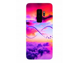 Husa Silicon Soft Upzz Print Samsung Galaxy S9+ Plus Model Infinity