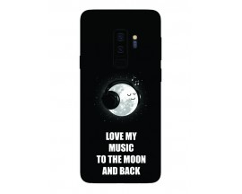 Husa Silicon Soft Upzz Print Samsung Galaxy S9+ Plus Model Music