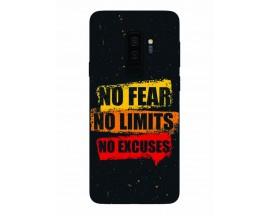 Husa Silicon Soft Upzz Print Samsung Galaxy S9+ Plus Model No Fear