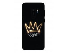 Husa Silicon Soft Upzz Print Samsung Galaxy S9+ Plus Model Queen