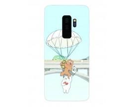 Husa Silicon Soft Upzz Print Samsung Galaxy S9+ Plus Model Three Bears