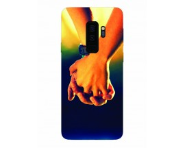 Husa Silicon Soft Upzz Print Samsung Galaxy S9+ Plus Model Together