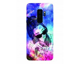 Husa Silicon Soft Upzz Print Samsung Galaxy S9+ Plus Model Univers Girl