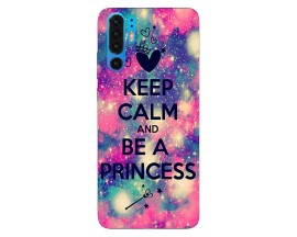 Husa Silicon Soft Upzz Print Huawei P30 Pro Model Be Princess