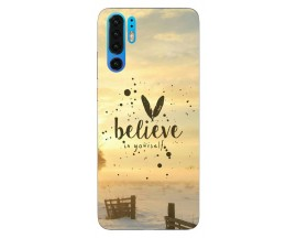 Husa Silicon Soft Upzz Print Huawei P30 Pro Model Believe