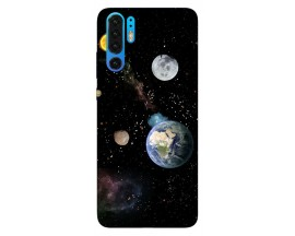 Husa Silicon Soft Upzz Print Huawei P30 Pro Model Earth