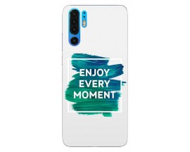 Husa Silicon Soft Upzz Print Huawei P30 Pro Model Enjoy