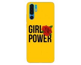 Husa Silicon Soft Upzz Print Huawei P30 Pro Model Girl Power