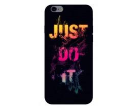 Husa Silicon Soft Upzz Print iPhone 6 / 6s Model Jdi