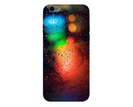 Husa Silicon Soft Upzz Print iPhone 6 / 6s Model Multicolor