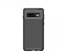 Husa Premium Rugged Carbon New Auto Focus Samsung Galaxy S10e Negru