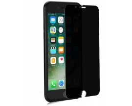 Folie Sticla 4d Privacy iPhone 7 Plus /8 Plus - Negru