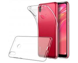 Husa Upzz Spate Ultra Slim Huawei Y7 2019 0,5mm ,silicon ,transparenta