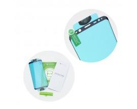 Folie Sticla Nano Glass Full Glue Flex Upzz Huawei P30 Lite  Negru Ultra Rezistenta