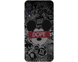 Husa Silicon Soft Upzz Print Samsung Galaxy A50 Model Dope