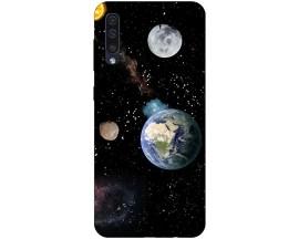 Husa Silicon Soft Upzz Print Samsung Galaxy A50 Model Earth