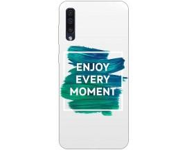 Husa Silicon Soft Upzz Print Samsung Galaxy A50 Model Enjoy