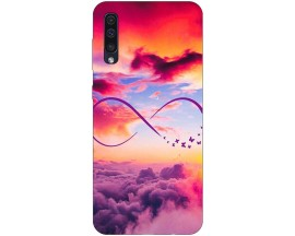 Husa Silicon Soft Upzz Print Samsung Galaxy A50 Model Infinity