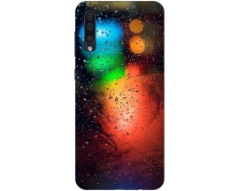 Husa Silicon Soft Upzz Print Samsung Galaxy A50 Model Multicolor
