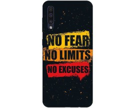 Husa Silicon Soft Upzz Print Samsung Galaxy A50 Model No Fear